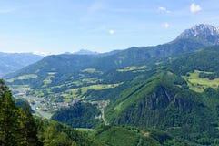 La regione delle alpi del Nord di Limetone in Austria Immagine Stock