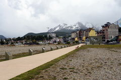 La regione delle isole delle Malvine in Ushuaia Fotografie Stock Libere da Diritti