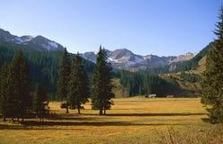 La regione montagnosa attracca Fotografie Stock Libere da Diritti