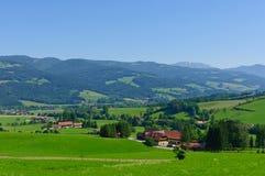 La regione nelle alpi centrali austriache Fotografia Stock Libera da Diritti