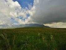 La regione selvaggia di Drakensberg Fotografia Stock Libera da Diritti