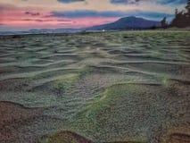 La regolazione della spiaggia fotografia stock