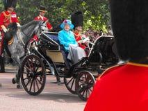 La reina de Inglaterra Fotografía de archivo