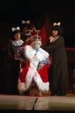 La reina de la nieve Foto de archivo