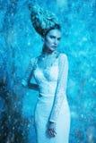 La reina de la nieve foto de archivo libre de regalías