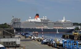 La reina en Kiel Foto de archivo
