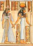La Reine égyptienne Cléopâtre illustration stock