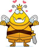 La Reine Armor Hug d'abeille de bande dessinée illustration stock
