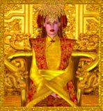 La Reine d'or de Changhaï Photos stock