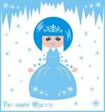 La reine de neige Images stock