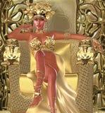 La reine de serpent Images stock