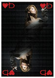 La Reine des coeurs Photo libre de droits