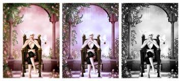 La reine du pays des merveilles Photo libre de droits