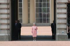 La Reine Elizabeth Photo libre de droits
