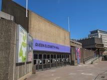La Reine Elizabeth Hall London Photo libre de droits