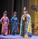 La reine et l'opéra de domestique-Pékin : Adieu à ma concubine Photos stock
