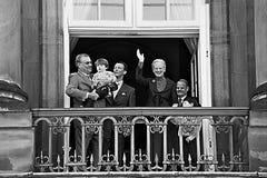 La Reine Margrethe de HMTh célébration de 65 anniversaires Photos libres de droits
