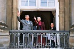 La Reine Margrethe de HMTh célébration de 65 anniversaires Photo libre de droits