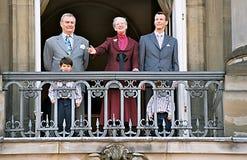 La Reine Margrethe de HMTh célébration de 65 anniversaires Images libres de droits