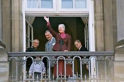 La Reine Margrethe de HMTh célébration de 65 anniversaires Image stock