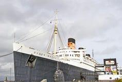 La Reine Mary Oceanliner de RMS Images stock
