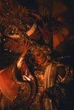 La Reine Panama de carnaval Photo stock