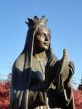La reine tient des colombes Photographie stock