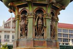La Reine Victoria Fountain à la place de Merdeka, Kuala Lumper Malaysia image libre de droits