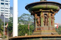 La Reine Victoria Fountain à la place de Merdeka, Kuala Lumper Malaysia photo stock