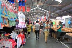 La Reine Victoria Market Melbourne Image libre de droits