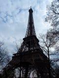 La reist Eiffel stock afbeelding