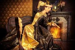 La Renaissance de princesse Photo stock