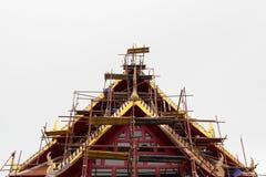 La reparación del templo Imagen de archivo libre de regalías