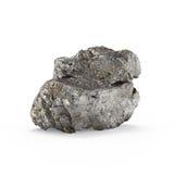 La representación mineral de las materias primas 3d Foto de archivo
