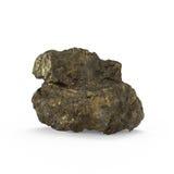 La representación mineral de las materias primas 3d Fotografía de archivo