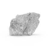 La representación mineral de las materias primas 3d Fotos de archivo libres de regalías