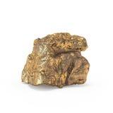 La representación mineral de las materias primas 3d Imagen de archivo libre de regalías