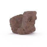 La representación mineral de las materias primas 3d Fotos de archivo