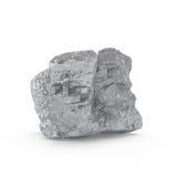 La representación mineral de las materias primas 3d Foto de archivo libre de regalías