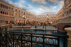 La reproducción de San Marco de la plaza en el hotel veneciano Fotografía de archivo libre de regalías