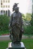 La reproduction de la statue en bronze de la liberté par Thomas Crawford est la caractéristique de couronnement du dôme du capito photo libre de droits