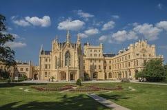 La repubblica Ceca del palazzo di Lednice Immagine Stock
