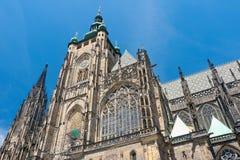 La repubblica Ceca: St Vitus Cathedral a Praga Fotografia Stock