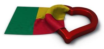 La Repubblica del Benin Immagini Stock
