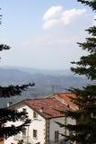 La Repubblica di San Marino fotografia stock libera da diritti