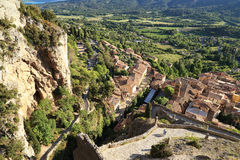 La reserva de naturaleza de Verdon, Provence, Francia Fotos de archivo
