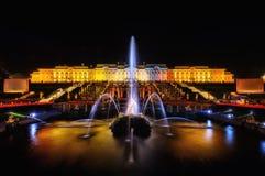 La reserva del museo de Peterhof del estado Fotografía de archivo