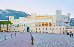 La residenza dello stato nel Monaco Fotografia Stock Libera da Diritti