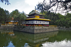La residenza di estate del Dalai Lama Immagine Stock Libera da Diritti