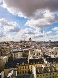 La residenza nazionale del Invalids a Parigi fotografia stock libera da diritti